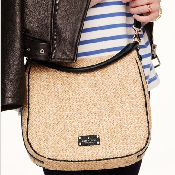 1341f5a1a90b07 kate spade Handbags - Kate Spade Cobble Hill Straw Small Ella